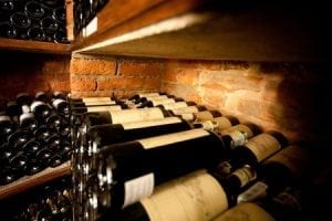 secure wine storage