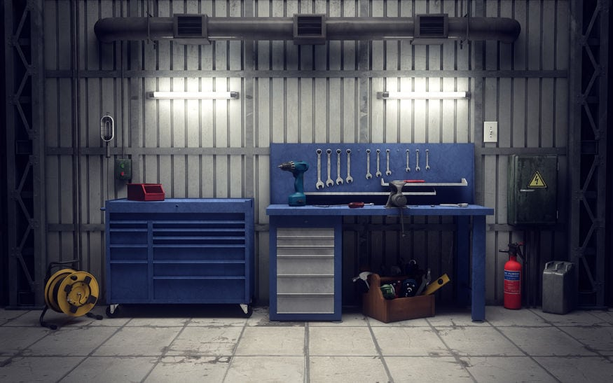 Storing Tools, Equipment, and Materials