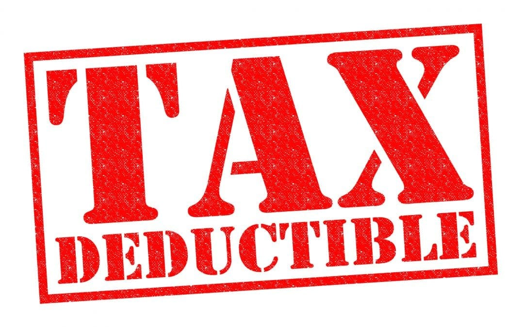Are self storage units tax deductible?
